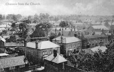 Chatteris, Cambridgeshire from the Church 1909 St Ives, Peterborough, Family History, Past, Saints, Painting, Santos, Past Tense, Painting Art