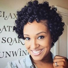 Short and Curly Crochet Braids