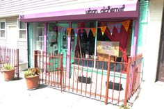 This pink-trimmed boutique in Park Slope is home to an artisan co-op filled with jewelry, home accessories, art, and clothing.