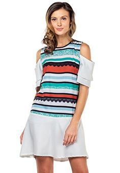 300df334927c2 Plains and Prints Womens Yadid Shortsleeves Dress XSmall Multi -- BEST  VALUE BUY on Amazon