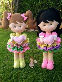 Pvc Pipe Crafts, Felt Crafts Diy, Felt Diy, Doll Crafts, Diy Doll, Craft Gifts, Easy Crafts, Sewing Crafts, Happy Birthday Doll