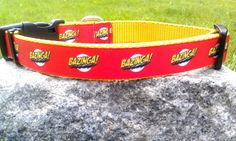 Bazinga 1 Inch Width Dog Collar by WillyWoofs on Etsy, $16.00