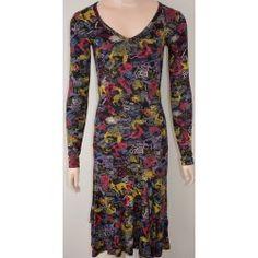 Desigual dámské šaty černé XS Dresses With Sleeves, Long Sleeve, Fashion, Moda, Sleeve Dresses, Long Dress Patterns, Fashion Styles, Gowns With Sleeves, Fashion Illustrations