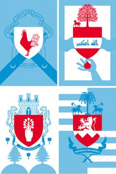 150 posters where created for the French Heraldry exhibition by Jules Julien. The posters are 80x120cm and have a clean, modern design with the historic background.