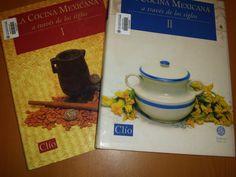Título: La cocina mexicana a través de los siglos / Ubicación: FCCTP – Gastronomía – Tercer piso / Código:  G/MX/ 641.013 C624C  / 2 t.