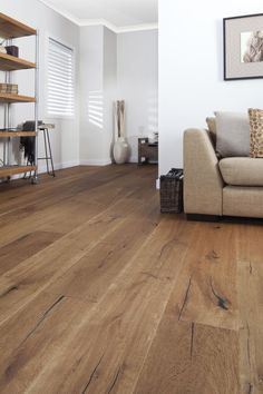 French oak parquet from Arrow Sun Australia: wild oak Lyon wide . - French oak flooring from Arrow Sun Australia: wild oak Lyon wide # fashionshoot - Flooring, New Homes, Home And Living, Home Living Room, House, Living Room Wood Floor, Home, House Flooring, French Oak Flooring