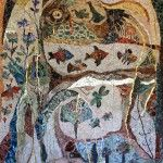 """The """"Grand Dame of Contemporary Mosaics"""", Ilana Shafir, takes us into her mosaic garden and studio in Ashkelon, Israel to show us why, at she still finds """"constant renewal and endless inspiration"""" in the making of mosaics. Mosaic Wall Art, Mosaic Glass, Mosaic Tiles, Glass Art, Mosaic Artwork, Group Art Projects, Mosaic Animals, Mosaic Garden, Jewish Art"""