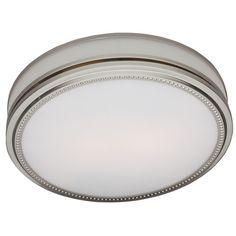Found it at Wayfair - Riazzi 110 CFM Bathroom Fan with Light