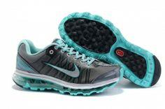 best authentic cad73 fda97 SOeb8345 Femme Nike Air Max 2009 Netty DarkGris Vert