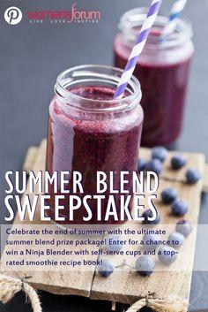 Win a Ninja Blender! #giveaways #contests #summer