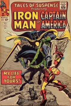 Marvel Comic Book Silver Age 12 Cent Tales Of Suspense Issue 73 Iron Man Marvel Comics, Marvel Comic Books, Comic Book Characters, Comic Books Art, Comic Art, Marvel Vs, Book Art, Marvel Villains, Marvel Characters