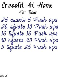 Workouts!
