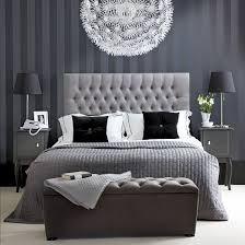 black and white bedroom - Google Search