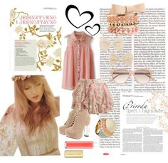 My polyvore outfit :) ---> Pale Pink