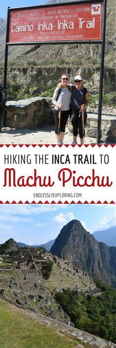 Hiking the Inca Trail to Machu Picchu #travel #hiking