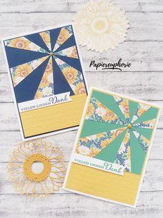 Danke Karte Gute Laune Gruß Sonnenblumen Sunflowers #diycards #crafting #astridspapiereuphorie #stampinup #danke #thankyou #stampinupösterreich #stampinupdemo #stampinupwien #kreativmitpapier #diy #gutelaunegruß #celebratesunflowers #handemadecards #cardmaking #paperlove #bastelnmachtspass #diycards #creative #diykarten #papierliebe #sunflowers Stampinup, Playing Cards, Creative, Paper, Thanks Card, Good Mood, Sunflowers, Cordial, Playing Card Games
