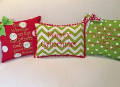 Merry Grinchmas What if Christmas he thought.... Well, in Whoville... Grinch themed pillow covers set of 3