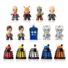 Doctor Who Titans Mini Figures