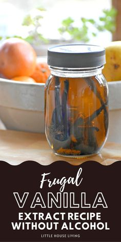 Have you been wanting to make your own vanilla extract but would prefer to make it without alcohol? Here's how to make vanilla extract with glycerin! Learn To Cook, How To Make, Make Your Own, Vanilla Extract Recipe, Little House Living, Low Carb Recipes, Gluten Free Recipes, Spice Mixes, Free Food