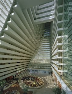been here ... absolutely beautiful, inside & out, especially the Sky Park on the roof ... Marina Bay Sands | Architects: Safdie Architects | Location: Singapore, Singapore | Photographs: Courtesy of Safdie Architects