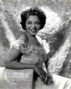 """Jazz trumpeteer Valaida Snow. She was named """"Little Louis"""" after Louis Armstrong himself, who used to call her the world's second best jazz trumpet player besides himself."""