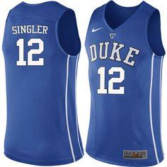 a0d6e2ccf Men #12 Kyle Singler Duke Blue Devils College Basketball Jerseys-Blue