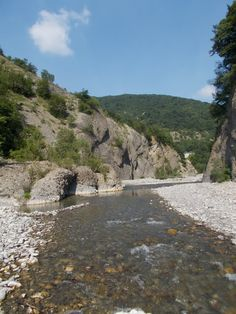"""Borbera river: """"La Bella Estate"""""""