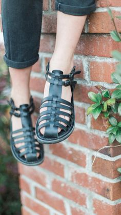 Items similar to Summer outfits leather sandals black sandals wedding sandals leather sandals strappy sandals flat sandals greek sandals gladiator sandals on Etsy Greek Sandals, Strappy Sandals, Flat Sandals, Birkenstock Sandals, Women Sandals, Shoes Sandals, Tan Leather Sandals, Beautiful Sandals, Cowhide Leather