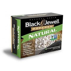 Black jewell, popcorn micro naturl 3ct, 10.5 oz, (pack of 6)  Natural #microwave popcorn has a very tender, yet crunchy texture and a far superior taste compared to the common yellow popcorn varieties that of other microwave popcorns. Taste this unique #popcorn for yourself to see how truly delicious, a product of the USA  Features : Pack of six, 10.5- ounce boxes (total of 63 ounces) *Great Natural Taste; Pops snow white *0 grams of Tran's fat; No hydrogenated oil *Less hull than other...
