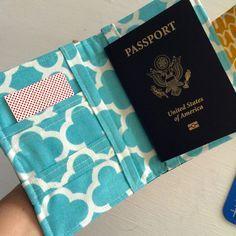 How to sew a passport wallet – Sewspire