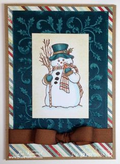 Country Snowman from Stampendous