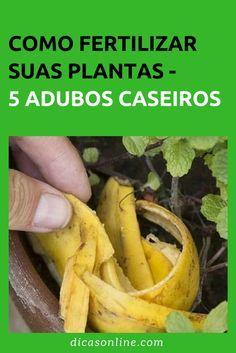 Adubo Caseiro