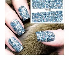 Water Transfer Nail Art Stickers at very less rate with free shipping