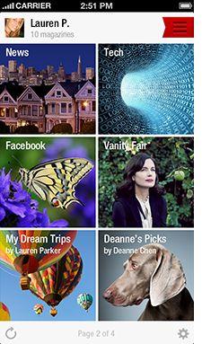 10 Best Apps for Australian Women: Flipboard.