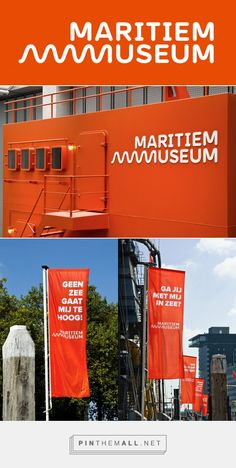 Brand New: New Logo for Maritiem Museum by Taken by Storm - created via https://pinthemall.net