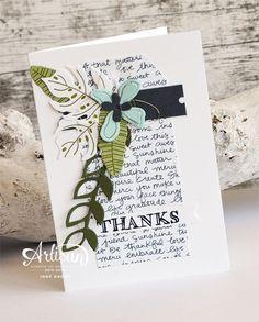 Botanical Blooms, Helping me Grow, Botanical Builder Framelits ~Inge Groot