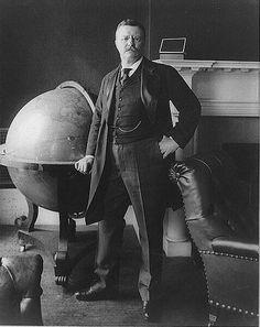 26th American president Theodore Roosevelt