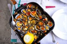 Azores Food Primer: 10 Essential Foods and Drinks From The Portuguese Islands | Via Food Republic | 18/07/2016 When it comes to food, the many unique microclimates make it possible to produce ingredients that most or all the rest of Europe can't.... Photo: grilled limpets azores Jenny Miller #Portugal