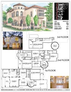 Three Story Urban House Plans, Inner City House Plans, Tnd Development – Prest… Three Story Urban House Plans, Inner City House Plans, Tnd Development – Preston Wood & Associates Pin: 1000 x 1294 Luxury House Plans, Dream House Plans, House Floor Plans, My Dream Home, The Plan, How To Plan, Building Design, Building A House, Building Plans