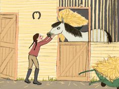 La jeune cavalière