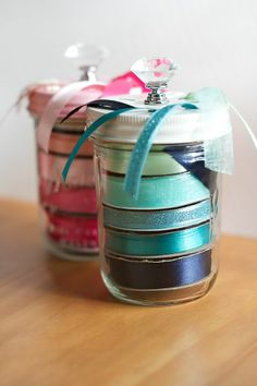 LOVE THIS!! CHA Sneak Peek: The Prettiest Ribbon Organization