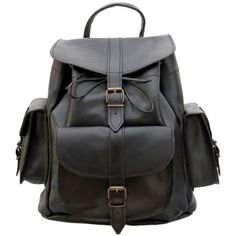 Grafea Show Business Medium Leather Rucksack (€200) ❤ liked on Polyvore featuring bags, backpacks, accessories, bolsas, mochilas, leather knapsack, knapsack bag, leather bags, real leather bags and rucksack bags