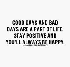 Stay positive ☺️