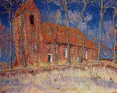 Johan Dijkstra. Kerk en landschap: Oostum en De Ploeg