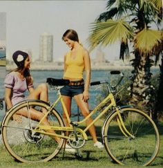 Almost like mine ~ Schwinn Collegiate. Step-through model, 1973 catalog 125cc Dirt Bike, Us West Coast, Gmc Motorhome, Cycling Girls, Bicycle Art, Old Bikes, Mini Bike, Vintage Bicycles, New Hobbies