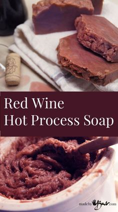 Some bright ideas don't always end up quite as we expect them to. I knew that soap could be made with milks and teas, so when I heard that wine was an option I was all excited. I am determined…