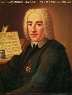 Alessandro Scarlatti (1660–1725), composer of operas and religious works. He is considered the founder of the Neapolitan school of opera