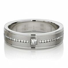 Luxry Diamond Men's Rings ♥ Men's Diamond Wedding Rings