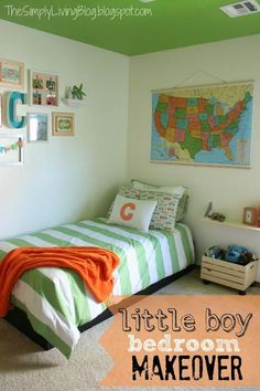 45 Ways to Add Character and Personality to a Boy's Bedroom | The Happy Housie
