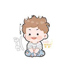 Pnkndyllw ™ Daniel K, Kpop Drawings, Daily Drawing, Dope Art, Cute Little Girls, Cute Faces, Anime Chibi, Cute Wallpapers, Illustration Art